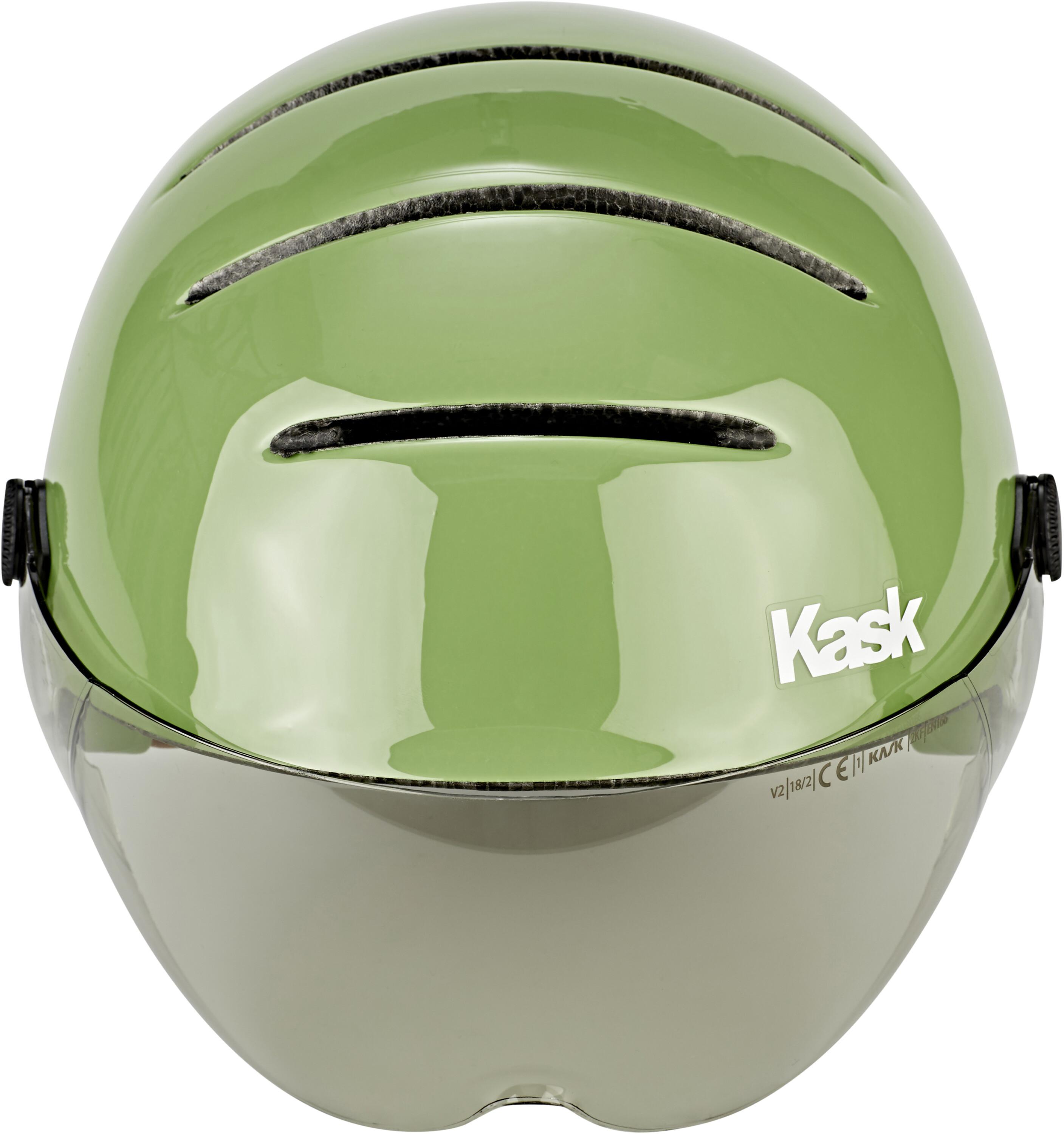 aeb4b21c699 Kask Lifestyle Bike Helmet incl. visor green at Bikester.co.uk